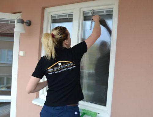 En trygghet för kunden som anlitar oss för fönsterputs i Stockholm